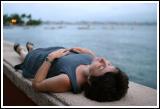 Resting Woman / Malecon