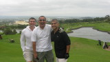 Andrei, Ronnie & myself @ the majestic hole #15