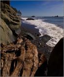 Waves on Ruby Beach