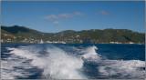 Leaving Roadtown Harbor