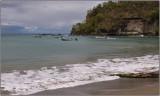 Fishing Boats at Anchor in Anse La Raye
