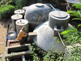 Biogas and Settling Tanks