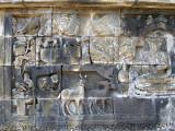 Borobudur Bas Relief with Wildlife