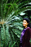 Donna With Cycad