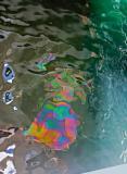 Oil Slick from USS Arizona Memorial