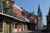 a view from Chartres St.