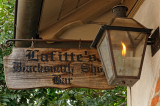 Lafitte's Blacksmith sign