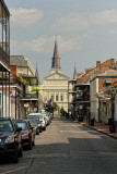 St. Louis Cathedral - rear view from Dauphine St.