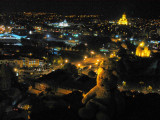The view of Tbilisi at night is breathtaking!