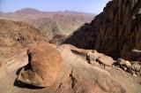 Mont Sinaï, couleurs des montagnes