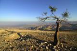 Vers le mont Nebo, sur la gauche Israël