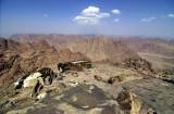 Mont Sinaï, presque au sommet