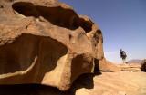 Mont Sinaï, formes des roches