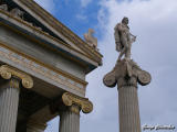 National Library and God Apollo
