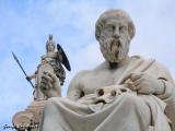 Godess Athena and Socrates