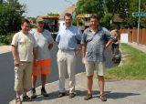 Asphaltierung der Landesstraße in Haderswörth