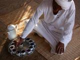 Tea in the desert, near Marsa Alam