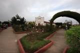 Parque e Iglesia Catolica de la Aldea Santo Tomas Milpas Altas
