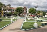 Vista Hacia el Poniente del Parque Central