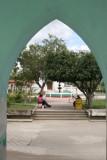 Vista desde la Municipaliad Hacia el Parque Central