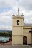 Vista de Costado de la Iglesia Catolica