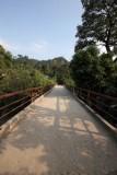 Puente Peatonal sobre el Rio Las Vacas
