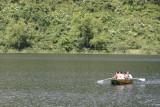 En la Laguna Calderas no se Permiten Embarcaciones de Motor