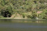 La Laguna Calderas es Muy Tranquila