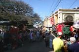 Calle del Comercio Frente al Mercado Local