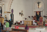 Detalle del Altar Mayor de la Iglesia Catolica