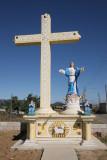 Monumento que Recibe al Visitante