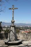 Cruz y Vista a la Ciudad Capital de Guatemala