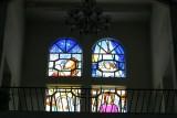 Vitrales que Decoran la Iglesia