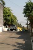 Vista de una de las Calles del Poblado