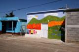 En el Poblado se Ven Casas con Singulares Pinturas