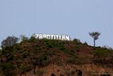 Nombre del Municipio en el Cerro Proximo al Poblado