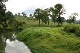 Vista del Rio Cahabon a las Afueras de la Ciudad