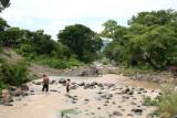 El Rio Chaparron Atraviesa el Poblado