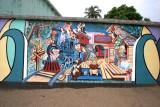 Mural en el Parque Infantil