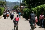 Una de las Calles Principales en Santa Elena Barillas