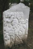 Replicas de Alto Relieve Maya Adornan el Parque