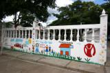 Mural Infantil en el Area de Canchas Deportivas