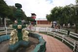 Fuente y Quiosco en el Parque Central