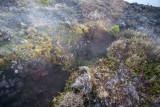 En la Cumbre el Volcan Tiene Fumarolas