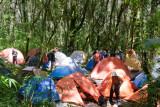 Area de Campamento en Medio de los Volcanes Toliman Y Atitlan