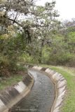 Vista del Canal para Irrigacion del Valle