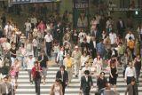Tipico Cruce Peatonal en el Centro de Osaka