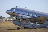 DC-3 'Hawdon' and O-1 Bird Dog