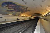 Beautiful Subway Stop