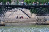Layers of People Along the Seine